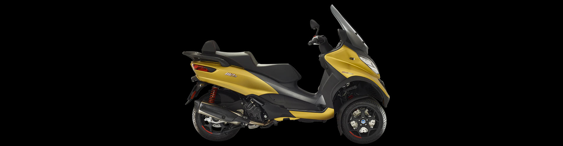 CocMotors- Piaggio MP3 500 Sport Advanced galben