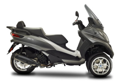 CocMotors- Piaggio MP3 500 Business gri