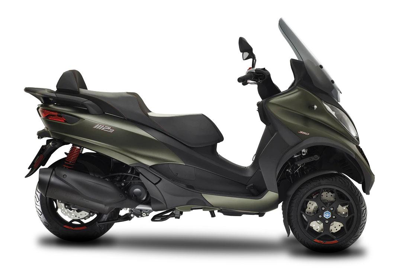 CocMotors- Piaggio MP3 350S verde