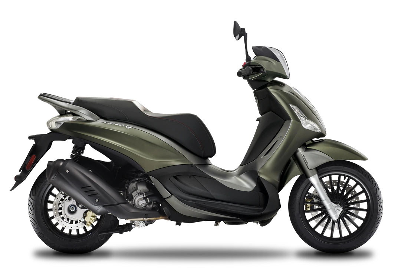 CocMotors - Piaggio Beverly 300 S verde mat