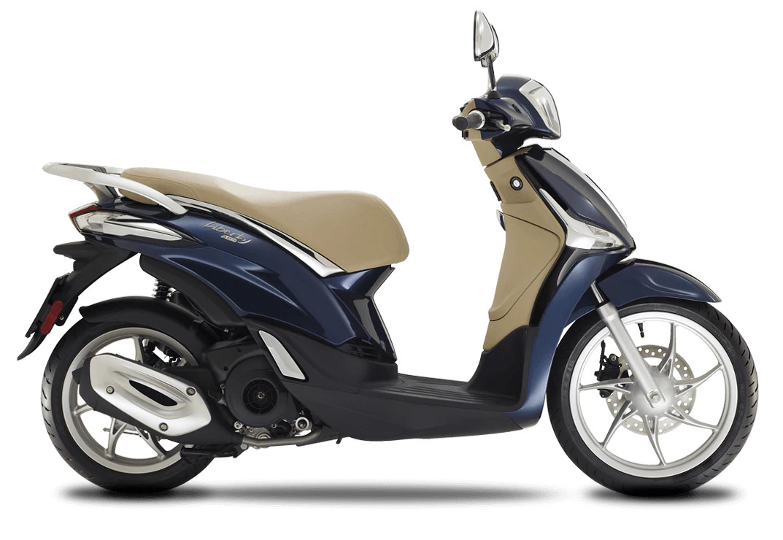 CocMotors- Piaggio Liberty 125 albastru