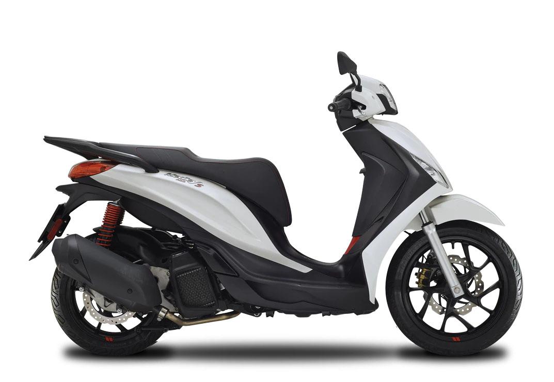 CocMotors- Piaggio Medley 125 S alb