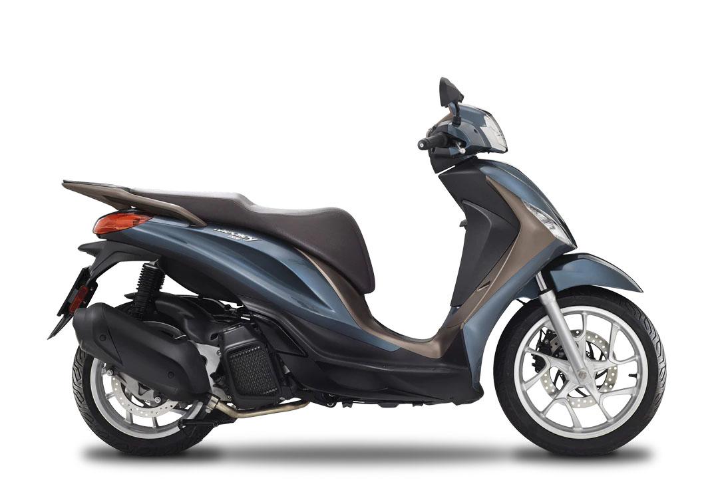 CocMotors- Piaggio Medley 125 albastru