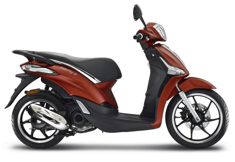 CocMotors- Piaggio Liberty 50S rosu